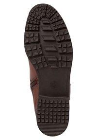Jana - STIEFELETTE - Ankle boots - cognac - 4