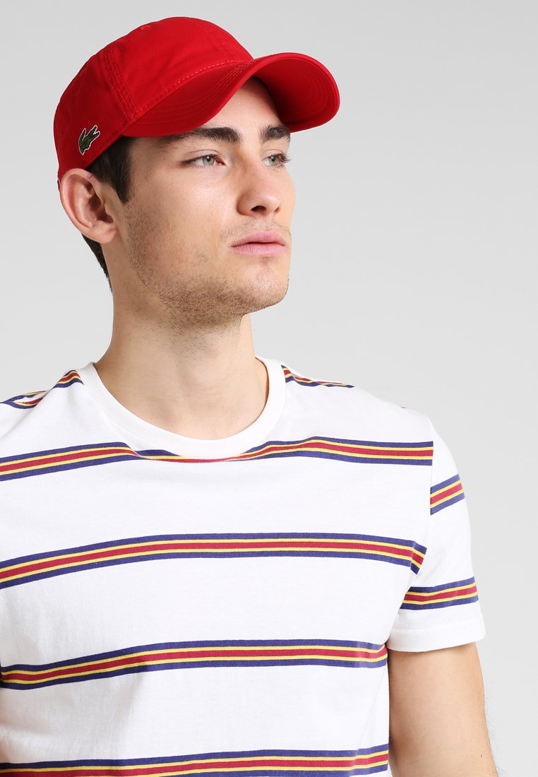 Lacoste - Keps - red