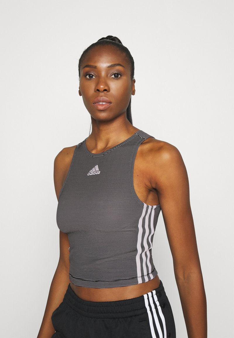 adidas Performance - TANK - Top - black
