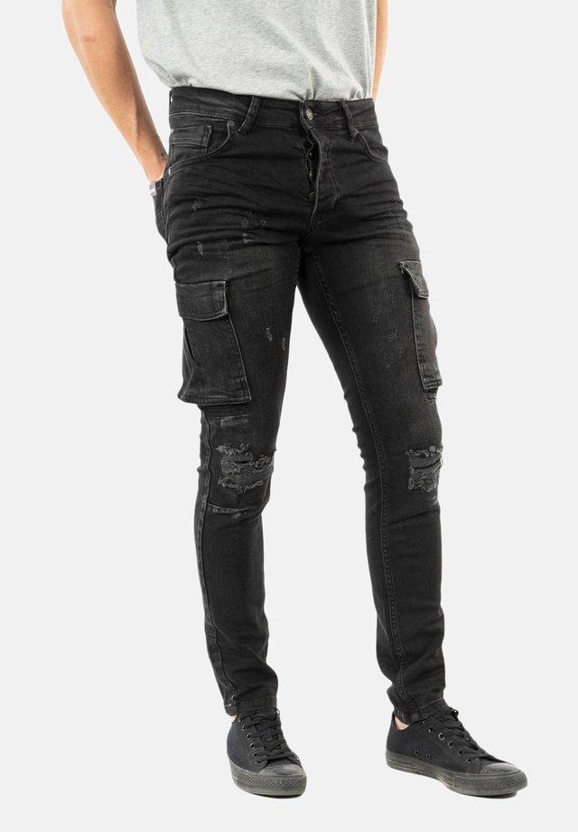 Jean slim - noir