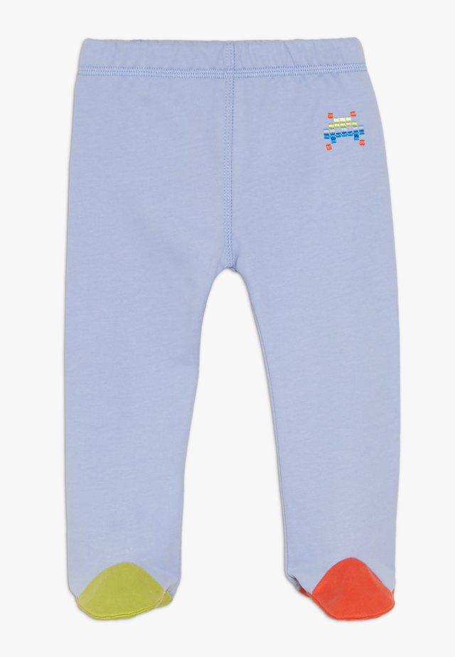 PIXEL BABY - Legginsy - blue mauve