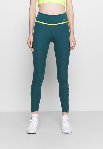 ONE 7/8 - Tights - dark teal green/cyber