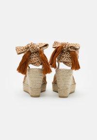 Vidorreta - High heeled sandals - camel - 3