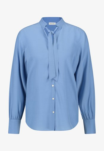Overhemdblouse - vivid blue