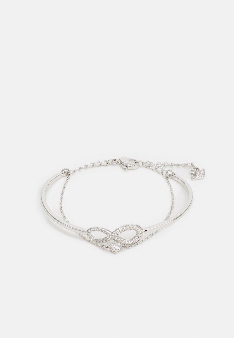 Swarovski - INFINITY BANGLE CHAIN - Bracelet - silver-coloured