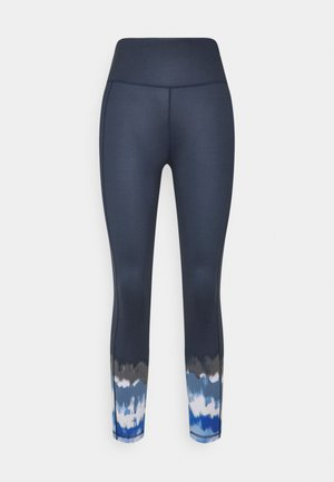 SUPER SCULPT YOGA LEGGINGS - Medias - navy blue ink