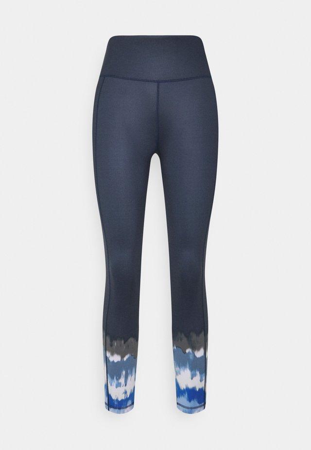 SUPER SCULPT YOGA LEGGINGS - Leggings - navy blue ink