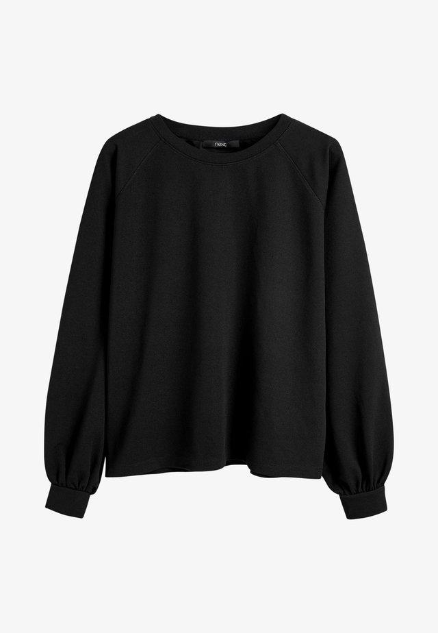 T-shirt à manches longues - mottled black