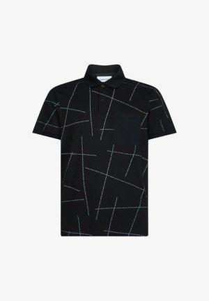 ALL-OVER LOGO - Poloshirt - calvin black