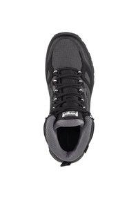 Jack Wolfskin - DOWNHILL TEXAPORE - Hiking shoes - black / grey - 3