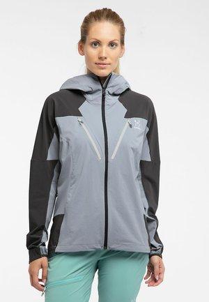 TEGUS JACKET - Soft shell jacket - concrete/magnetite