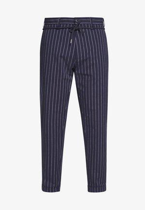 OXFORD STRIPE - Spodnie materiałowe - dark blue