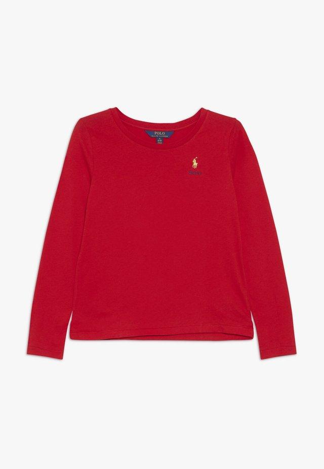 TEE - Maglietta a manica lunga - red