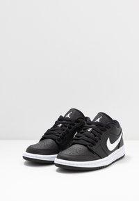 Jordan - AIR 1  - Trainers - black/white - 4