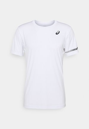 COURT TEE - T-shirt print - brilliant white