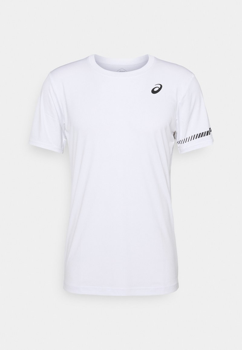 ASICS - COURT TEE - Print T-shirt - brilliant white