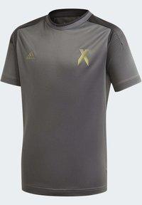 adidas Performance - FOOTBALL INSPIRED X AEROREADY JERSEY - Print T-shirt - grey - 3