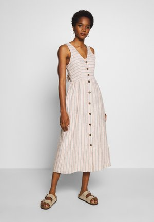 MIDI DRESS - Skjortekjole - multi