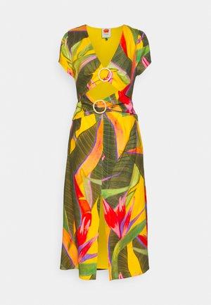 GARDEN MIDI DRESS - Day dress - yellow