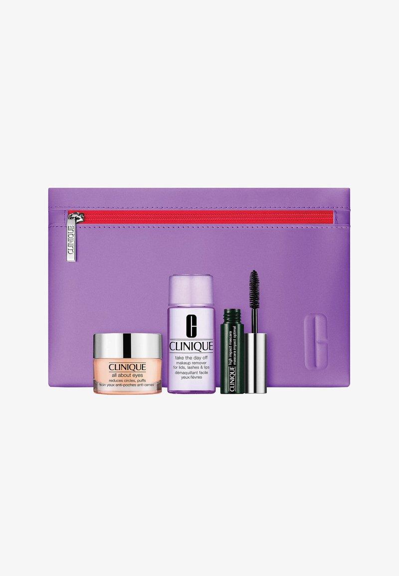 Clinique - ALL ABOUT EYES VALUE SET - Makeup set - -