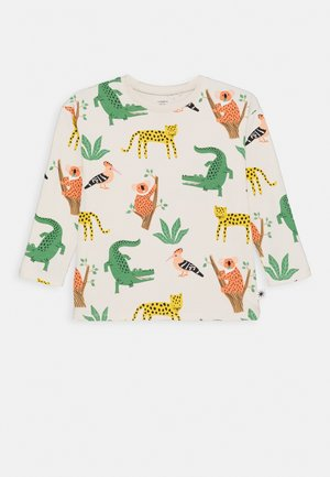 MINI MULTI ANIMAL UNISEX - Top s dlouhým rukávem - light beige