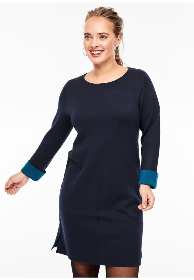 Jumper dress - navy