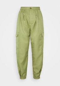 Missguided - BALLOON UTILITY TROUSERS - Trousers - khaki - 4