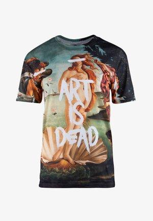 ART IS DEAD - T-shirt print - beige