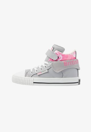 ROCO - High-top trainers - lt grey/flamingo