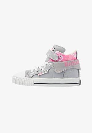 ROCO - Sneakers alte - lt grey/flamingo