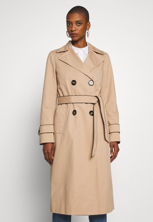 FEMININE COAT - Trench - beige