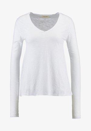 JACKSONVILLE - Long sleeved top - blanc