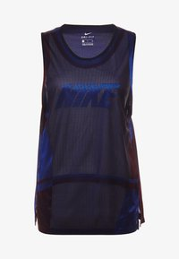 ICON TANK - Funkční triko - game royal/university red/black