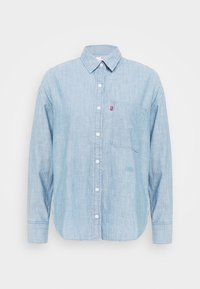 Levi's® - THE RELAXED - Button-down blouse - light blue denim - 4