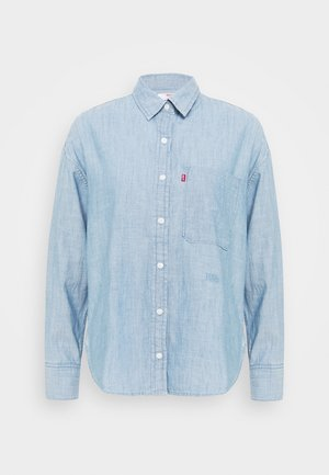 THE RELAXED - Skjortebluser - light blue denim