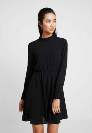 VMARWEN SHORT DRESS - Day dress - black