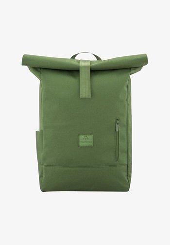 ROLL TOP AARON - Zaino - green