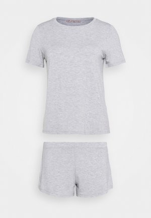 Basic short set - Pyžamová sada - light grey