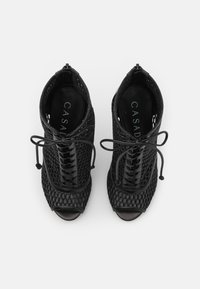 Casadei - JOLLY BLADE WEBSTER - Lace-up ankle boots - minorca/nero - 4