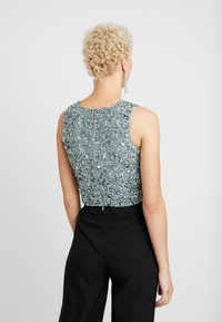Lace & Beads Tall - PICASSO - Top - teal - 2