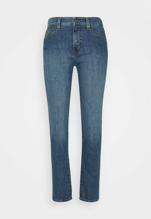 Straight leg jeans - ocean blue wash