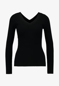 JDY - JDYPIPPA TREATS V NECK - Jumper - black - 4