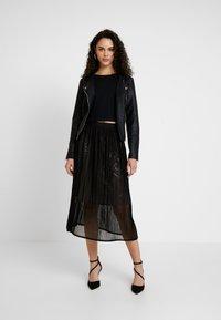 Le Temps Des Cerises - ANGELA - A-line skirt - black - 1