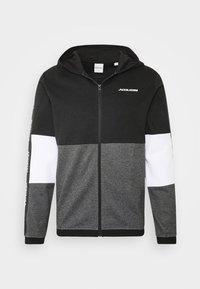 JCOKALLY ZIP HOOD - Training jacket - black
