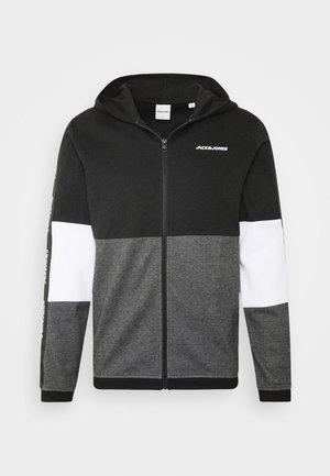 JCOKALLY ZIP HOOD - Sportovní bunda - black