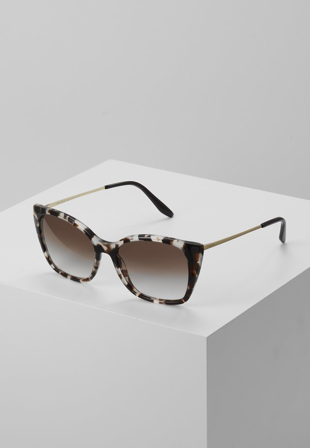 Sunglasses - mottelt brown