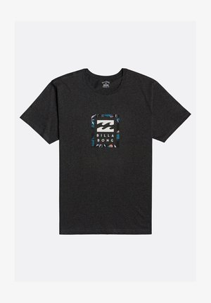 UNITY STACKED - Print T-shirt - black heather