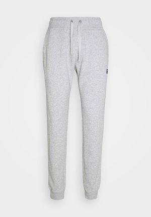 CENTRE TAPERED PANT - Teplákové kalhoty - light grey melange