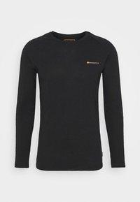 Jack & Jones - JCOFINN TEE  - Long sleeved top - black - 4