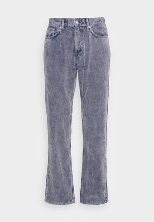 SPACE WASHED TROUSERS - Kalhoty - dark blue